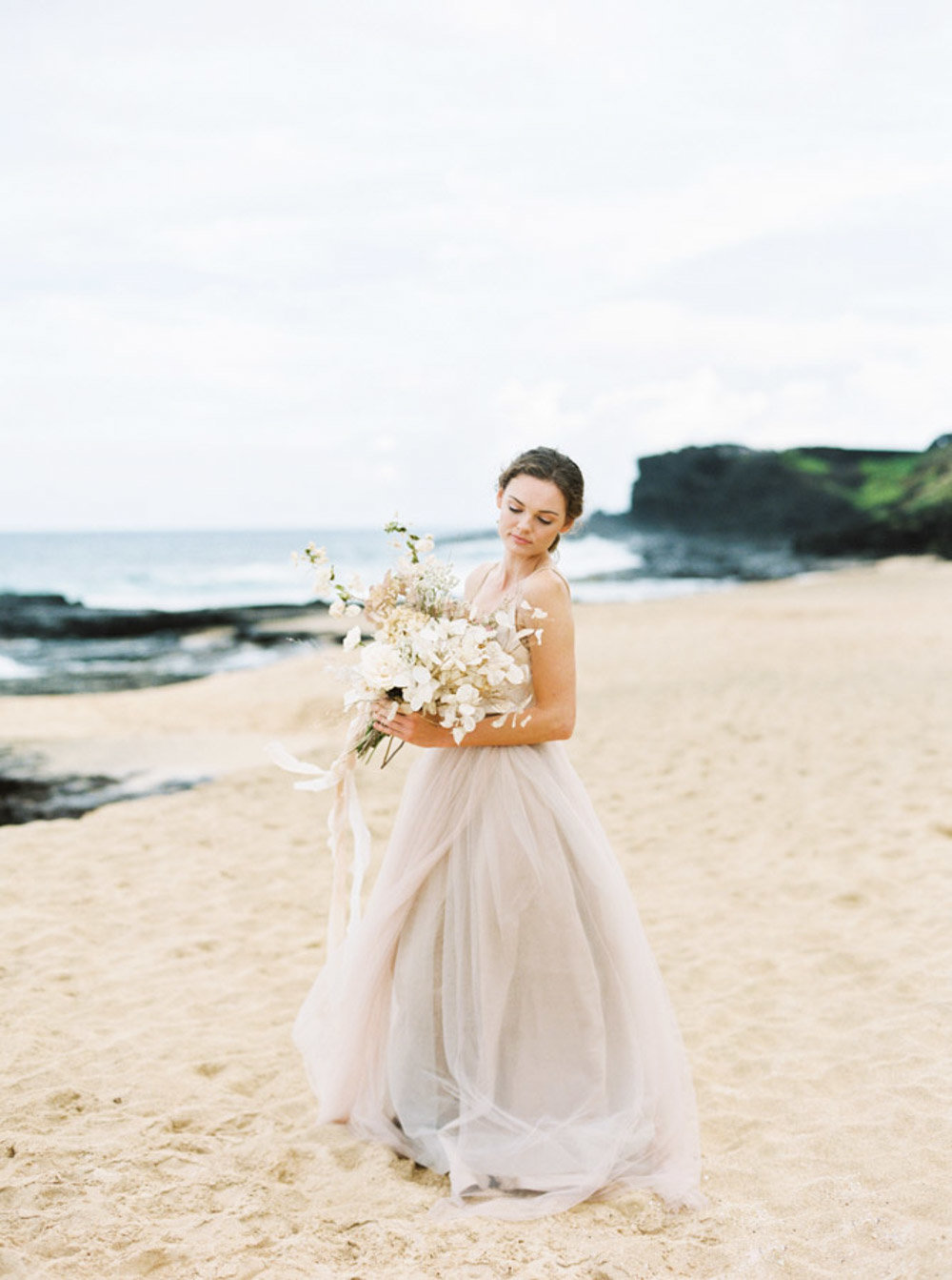 Hawaii Destination Wedding Photographer Sheri McMahon - Hawaii Beach Elopement-00006