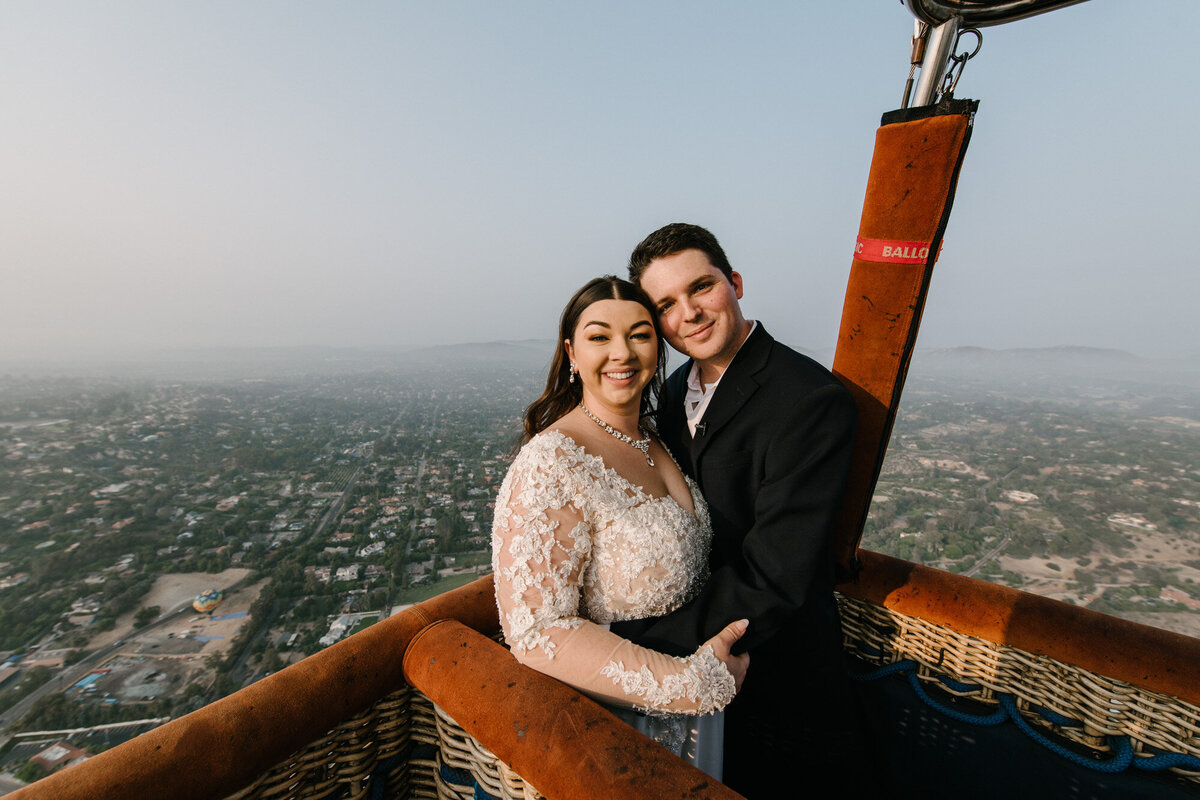 Hot Air Balloon Elopement Marie Monforte Photography-120
