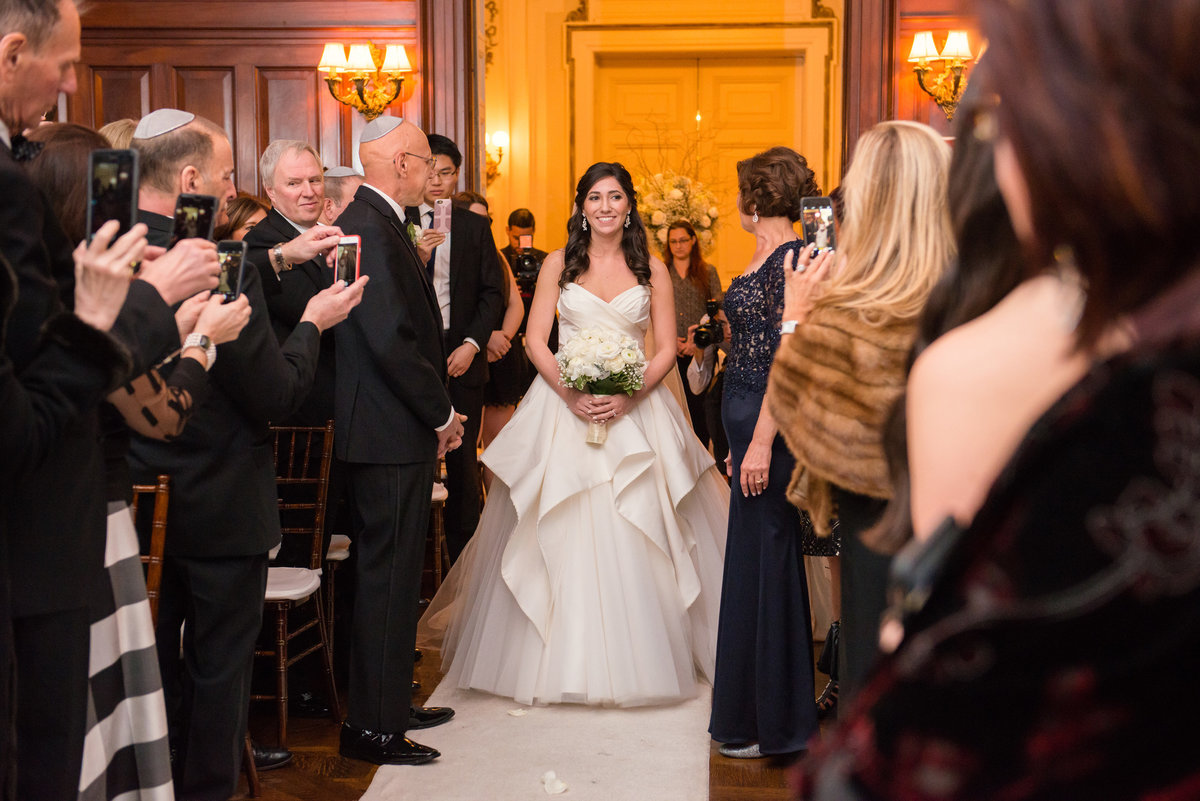 Bourne Mansion wedding ceremony