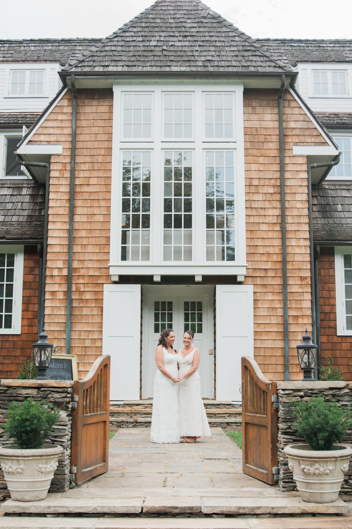 Intimate outdoor wedding photographed by Boone Wedding Photographer Wayfaring Wanderer.