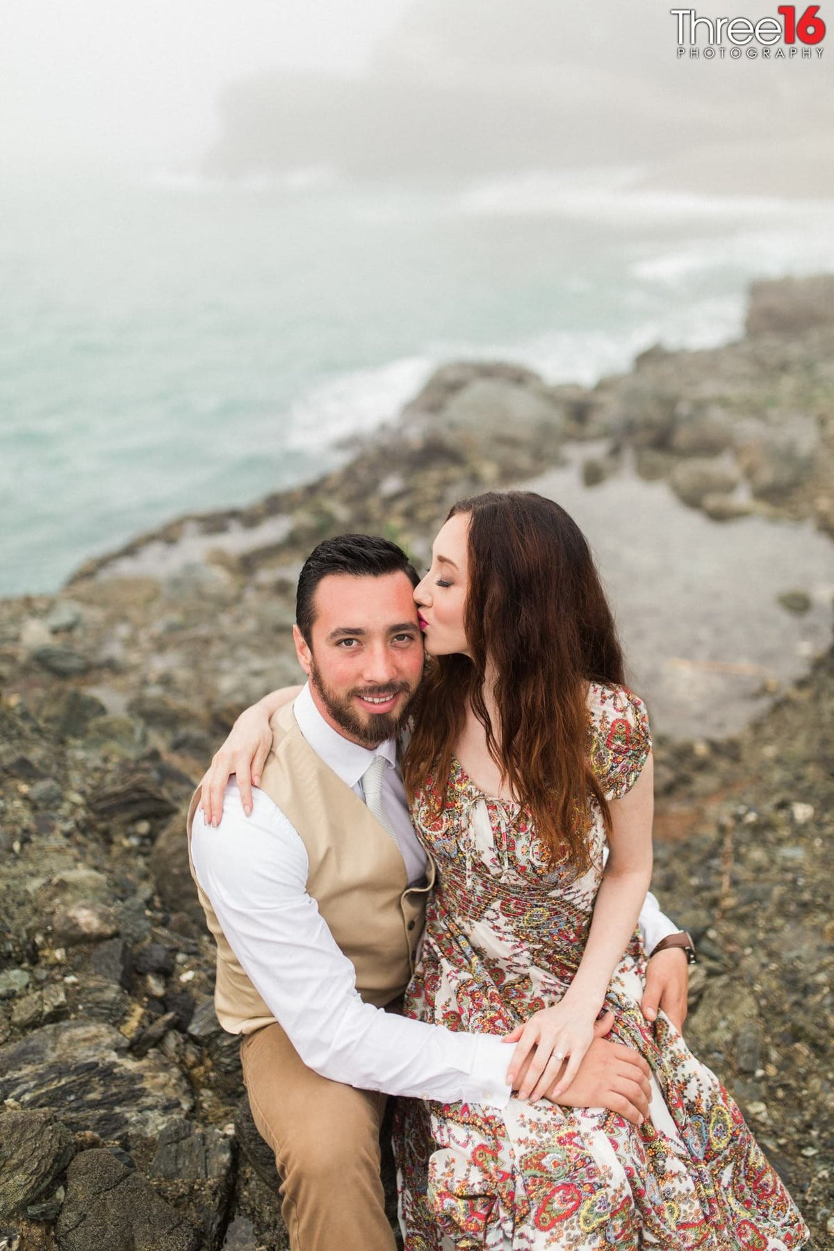 Table Rock Beach Engagement Beach Professional Weddings Photography