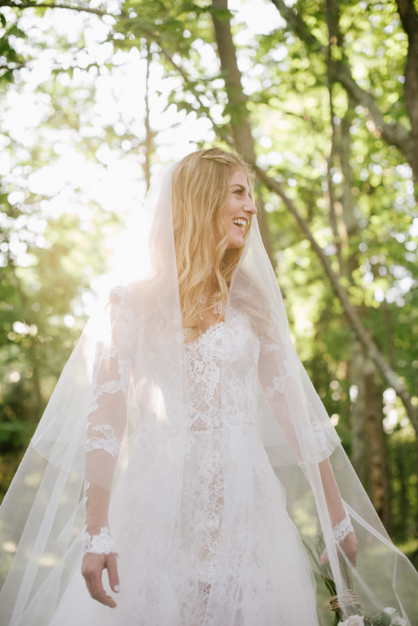 Custom Monique Lhuillier wedding  dress