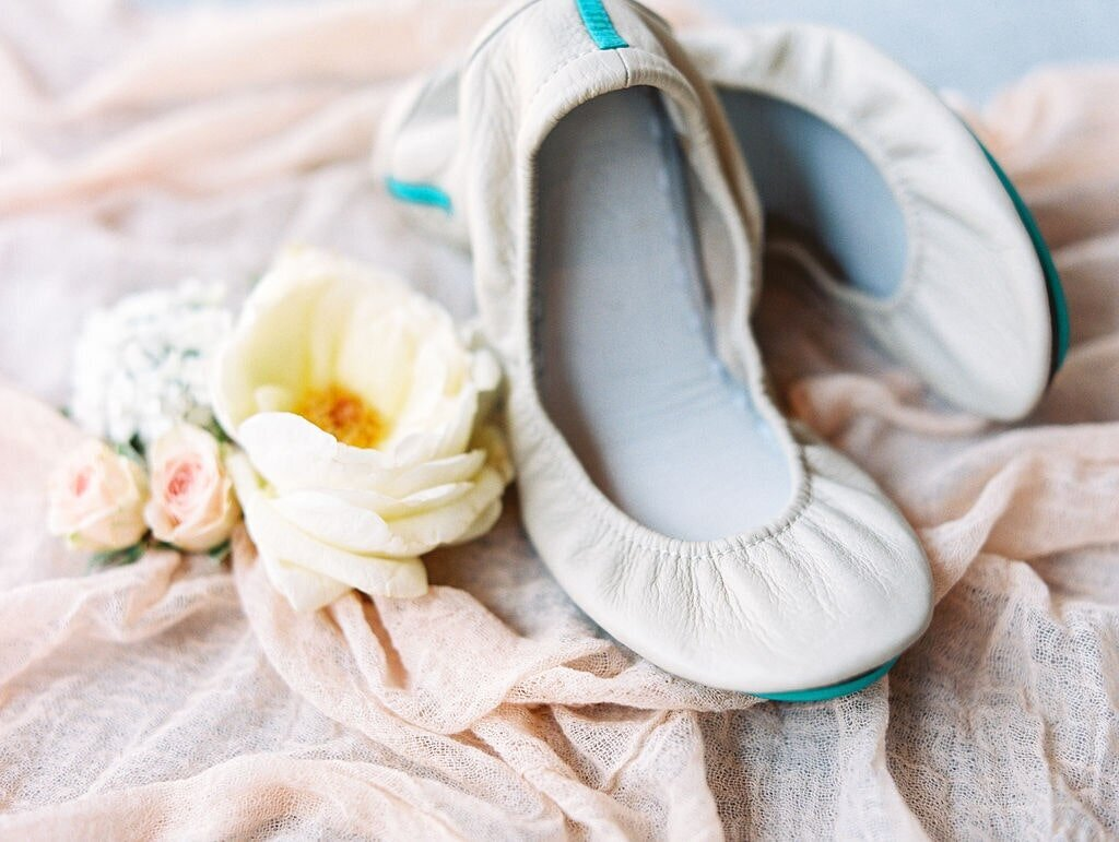 Bay Harbor Wedding Flowers Shoes-min