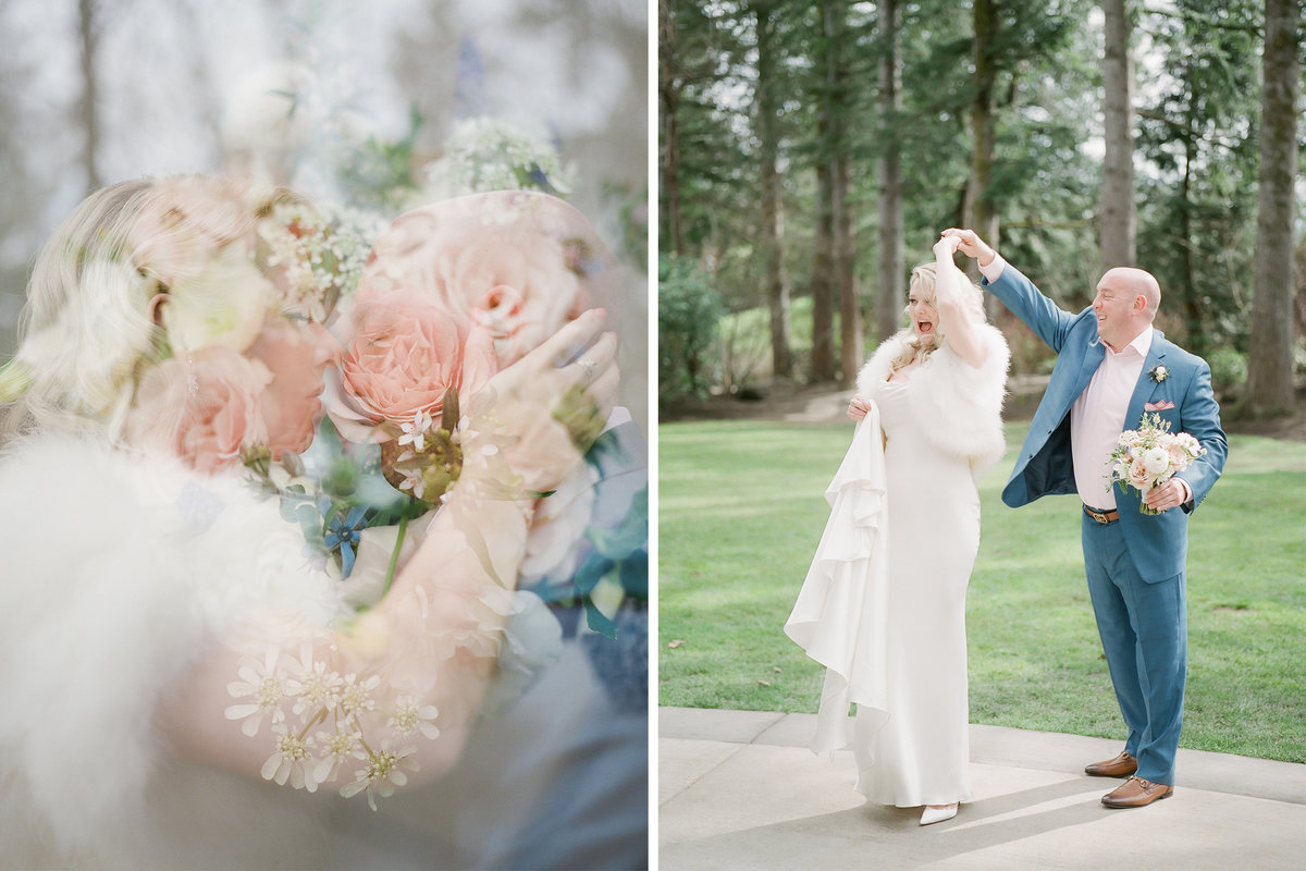 Tetiana Photography - Seattle film wedding photographer - Salish Lodge - Fine Art - 1