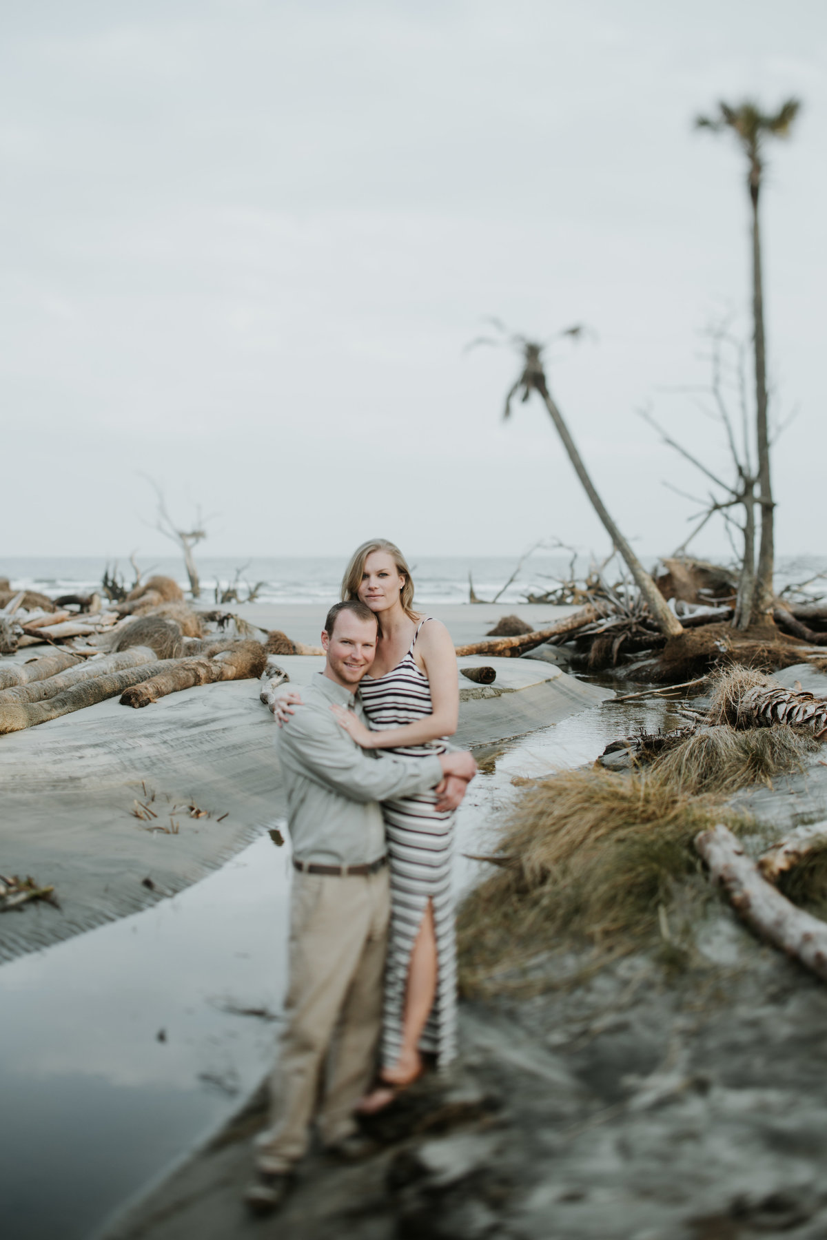 Charleston-SC-beach-engagement-portrait-photography-1