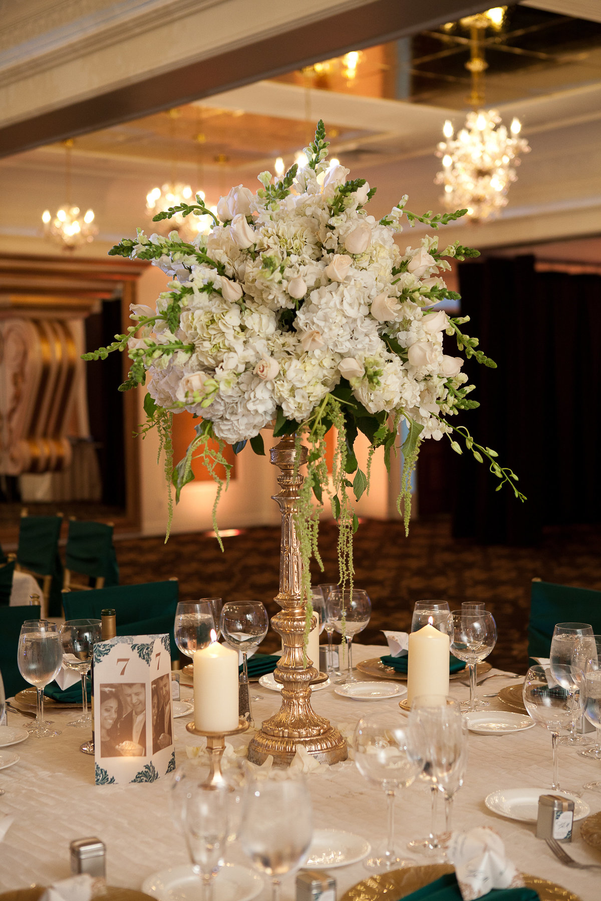 Westmount Country Club Wedding NJ Wedding Planner Emerald Green 18