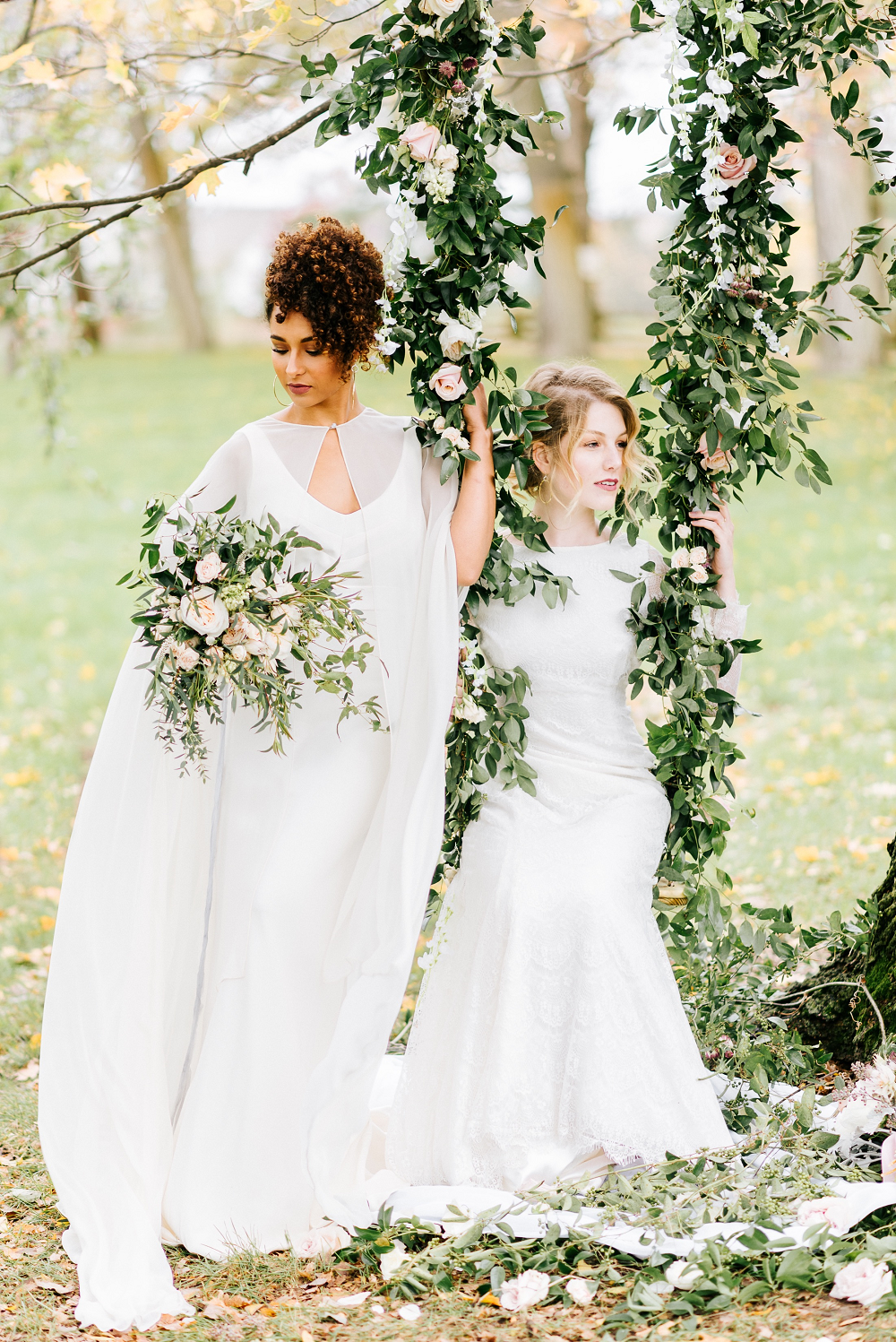 Lush Greenery Wedding Inspired Styled Shoot at Cornman Farms Compose Events