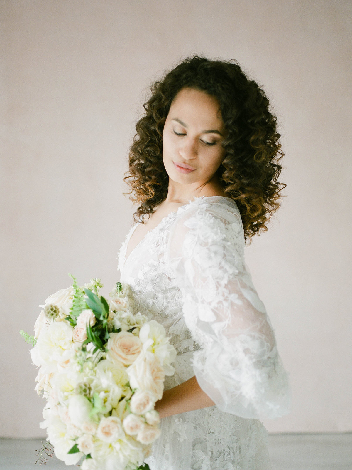 Fine Art Bridal Portraits - Sarah Sunstrom Photography - Film Wedding Photographer - 22