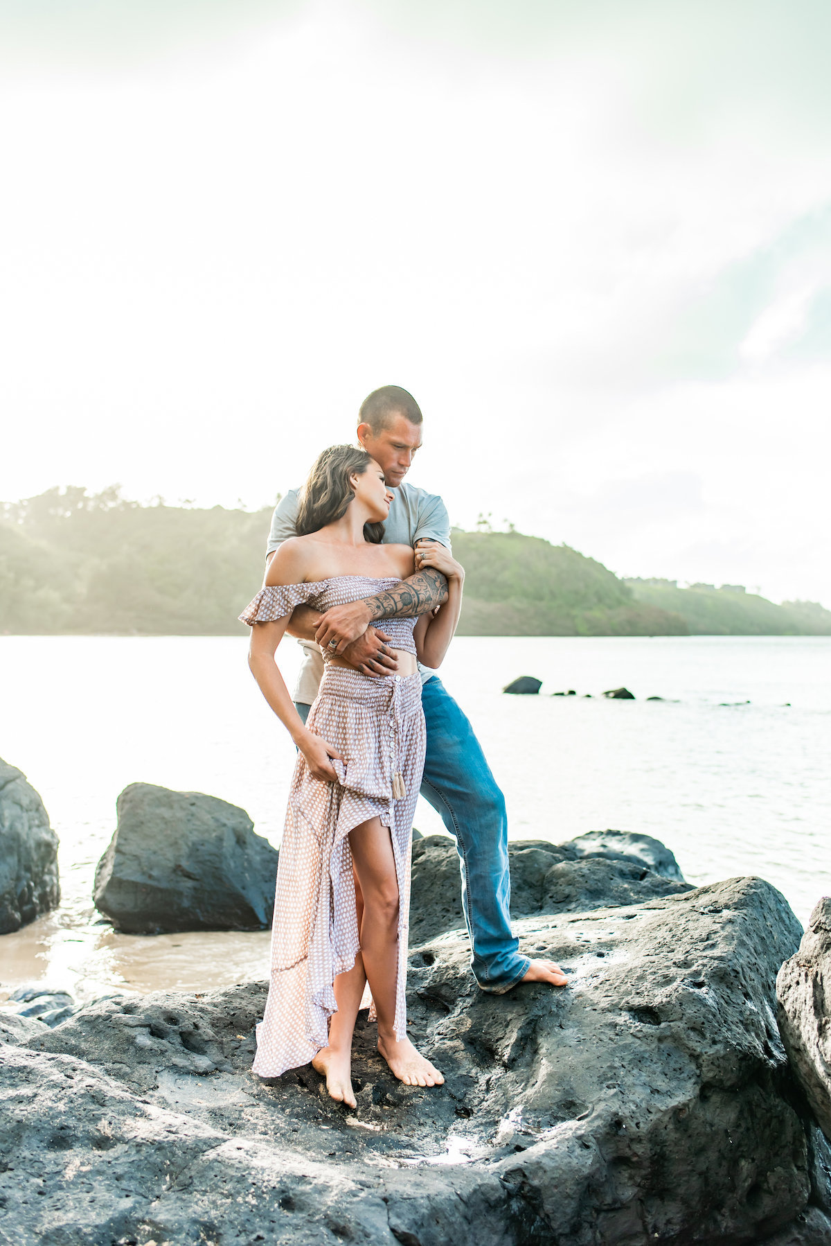 Kauai Couples beach Photography