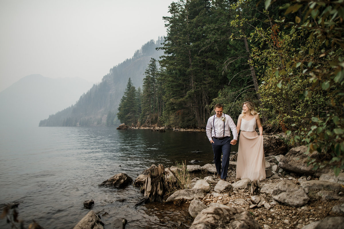 Lake-Cushman-Olympic-National-Park-Elopement-7