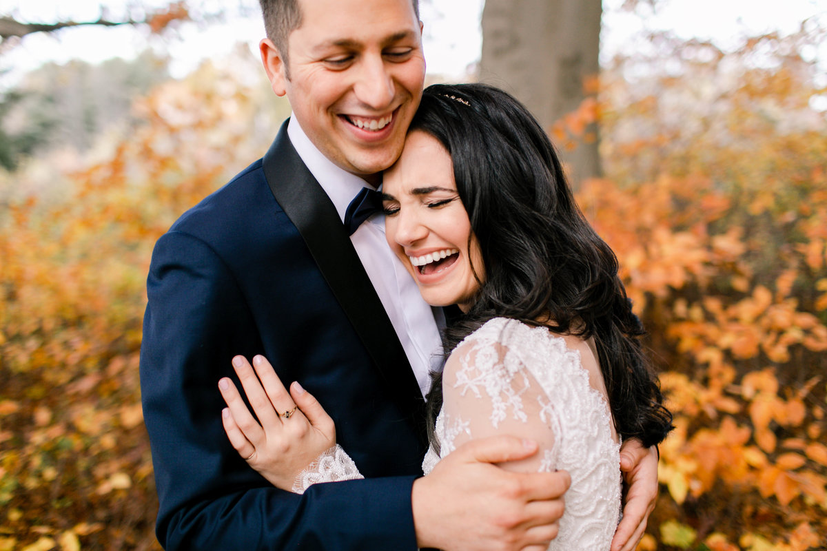 wedding photos in fall