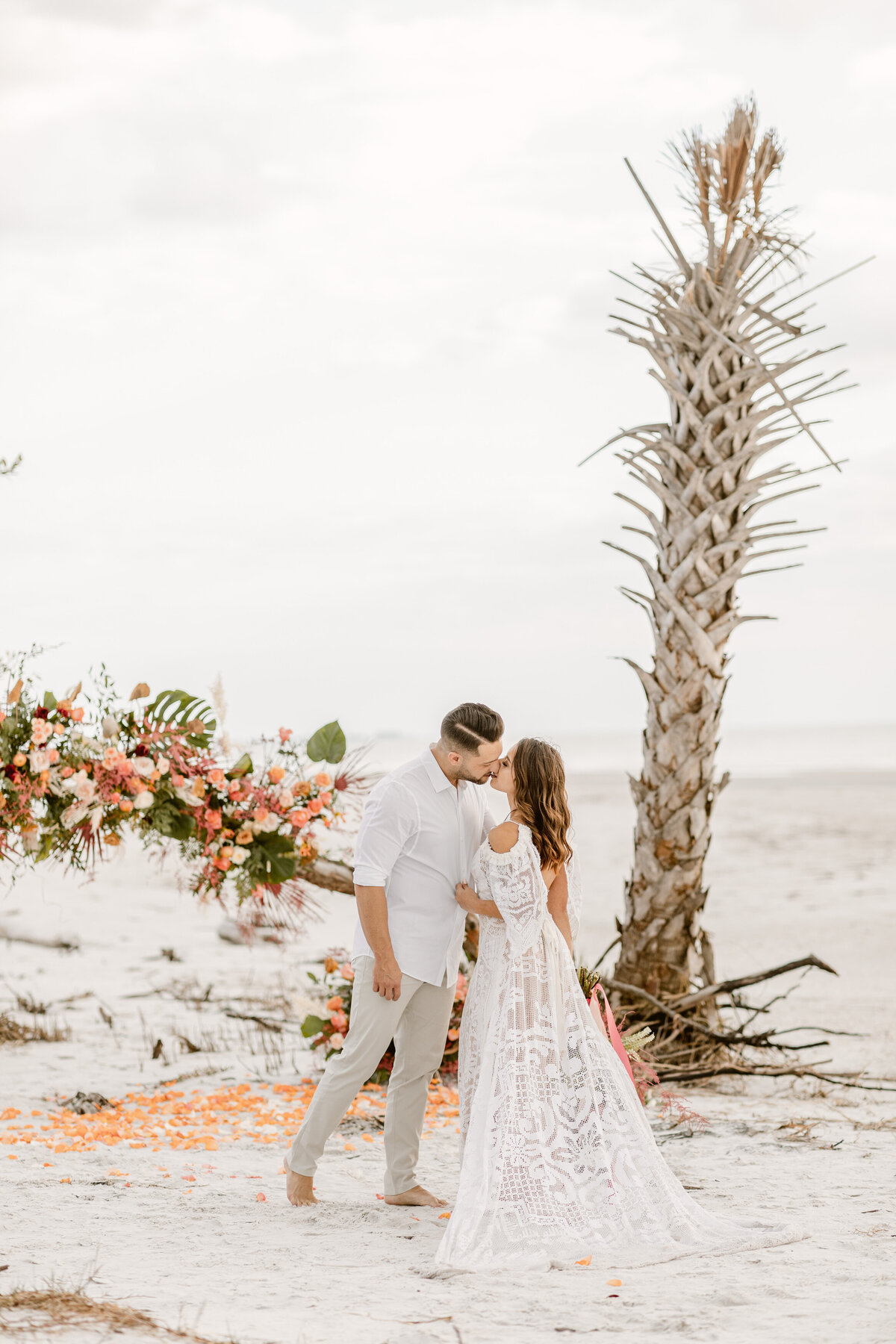 Beach Elopement in Saint Petersburg, Florida 11