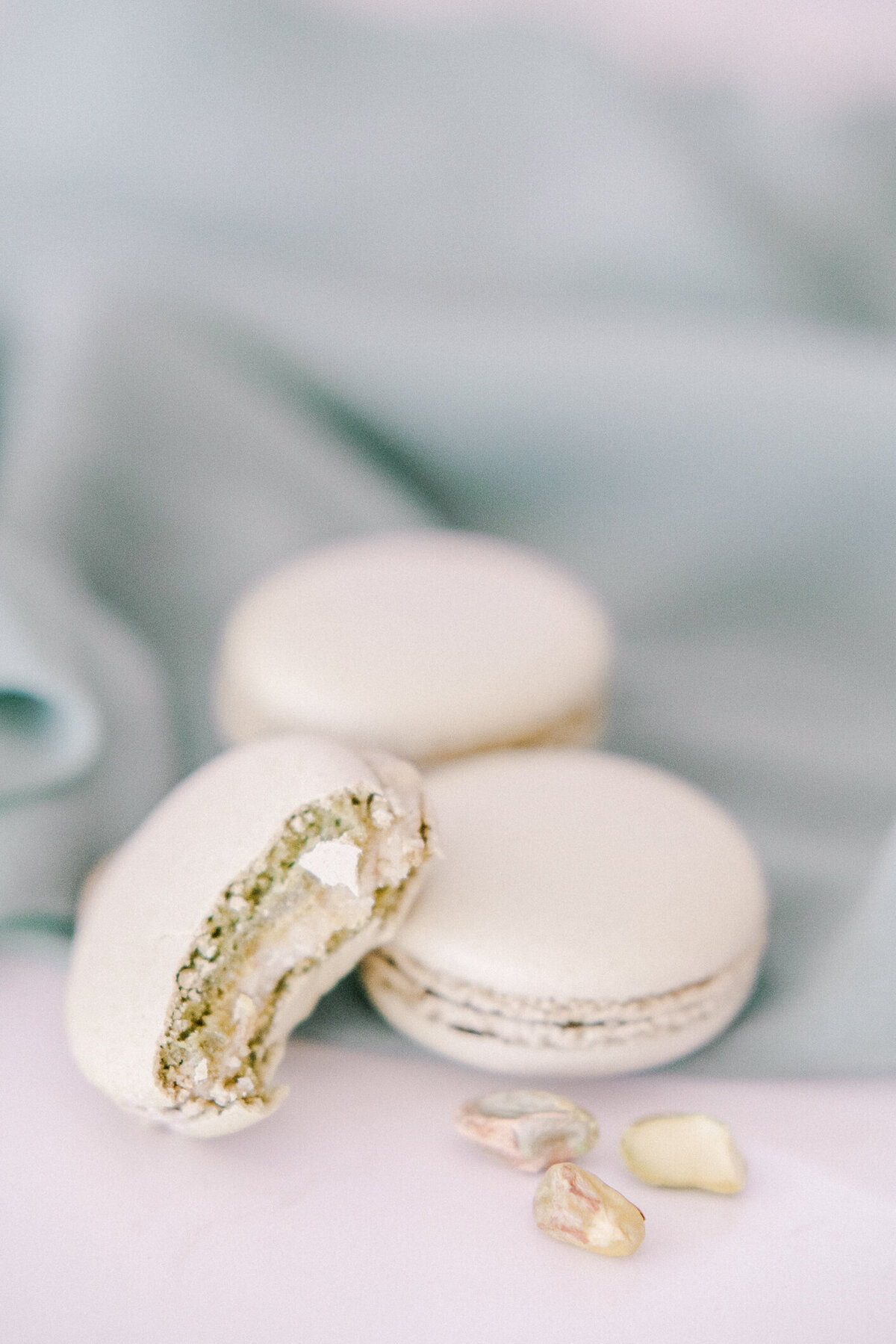 Kelowna French Macarons and Silk Ribbon