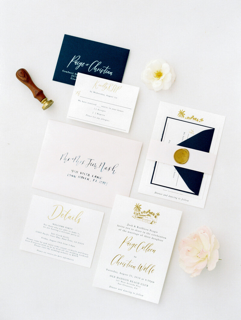 pirouettepaper.com | Wedding Stationery, Signage and Invitations | Pirouette Paper Company | Invitations | Jordan Galindo Photography _ (37)