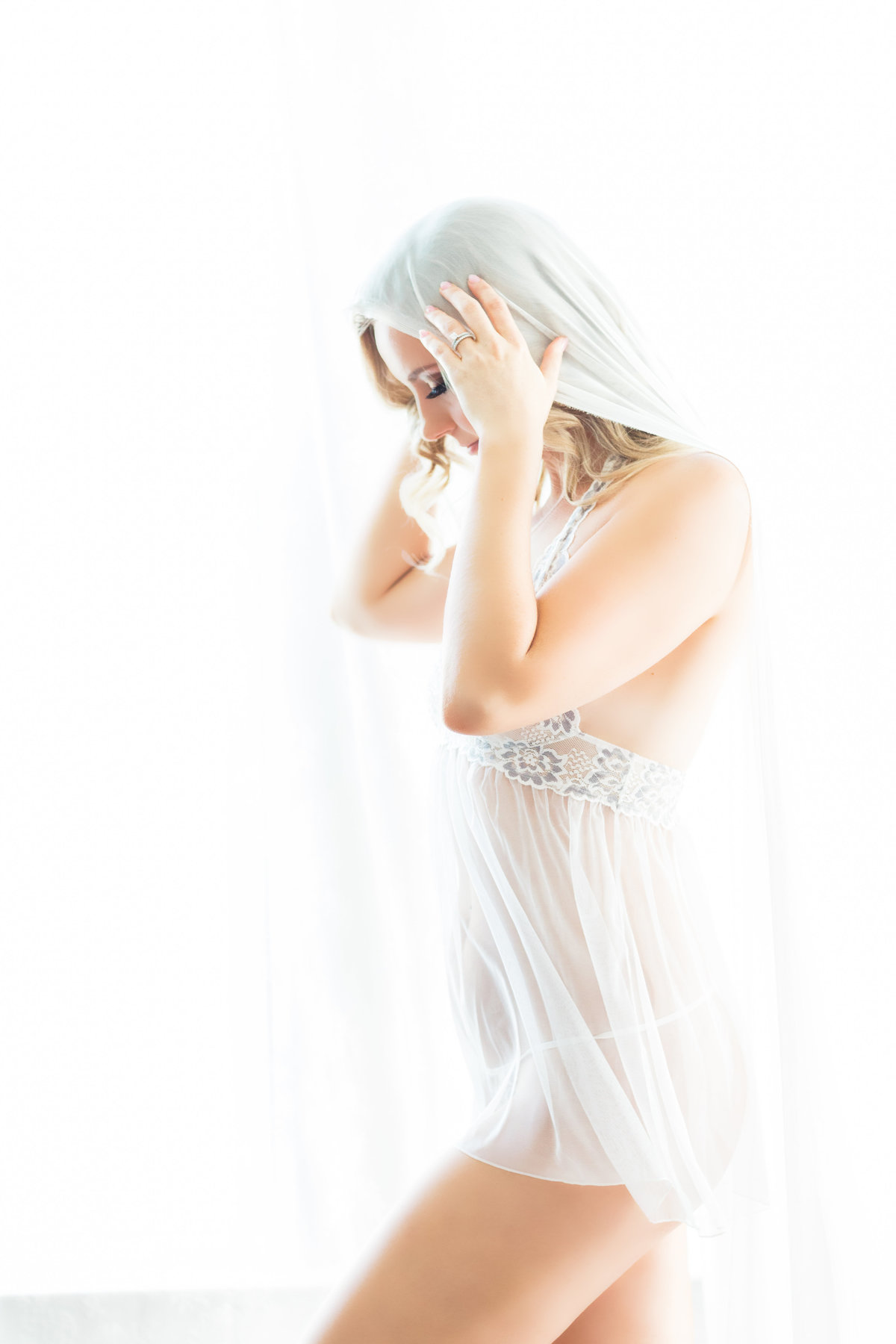 Fine art bridal boudoir photography Virginia Beach