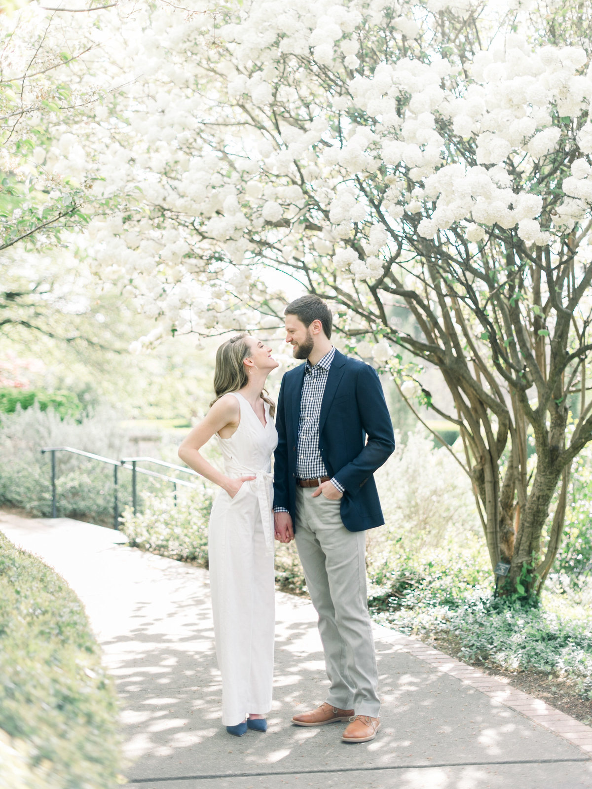 Courtney Hanson Photography - Dallas Spring Engagement Photos at Dallas Arboretum-2748