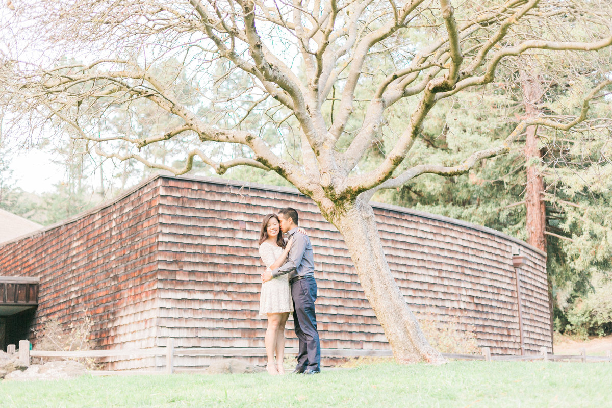 Rustic Luxe Barn Farm Themed Engagement Photo