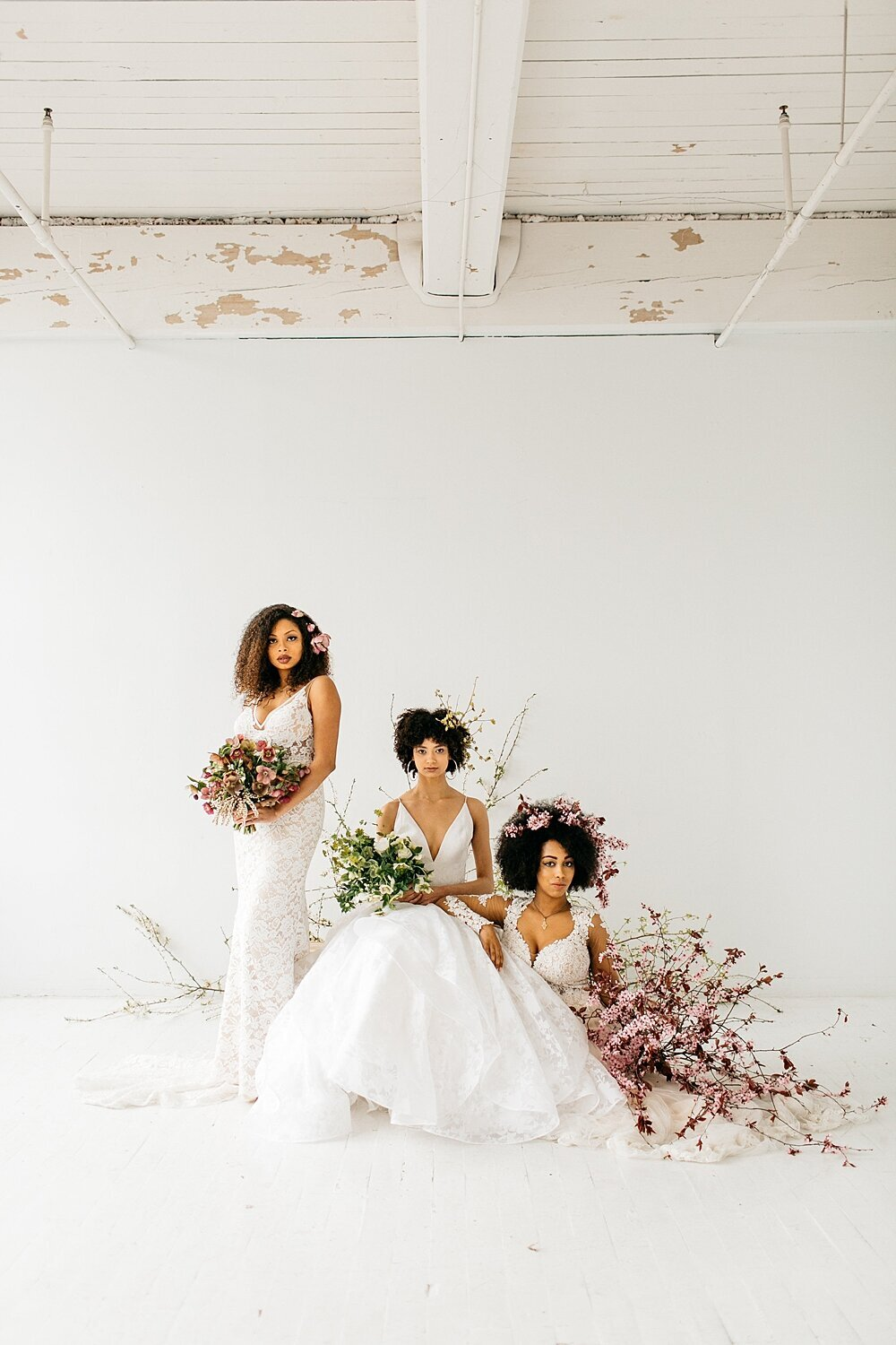 leigh-and-mitchell-spring-bridal-shoot-women-of-color-natural-hair-styling