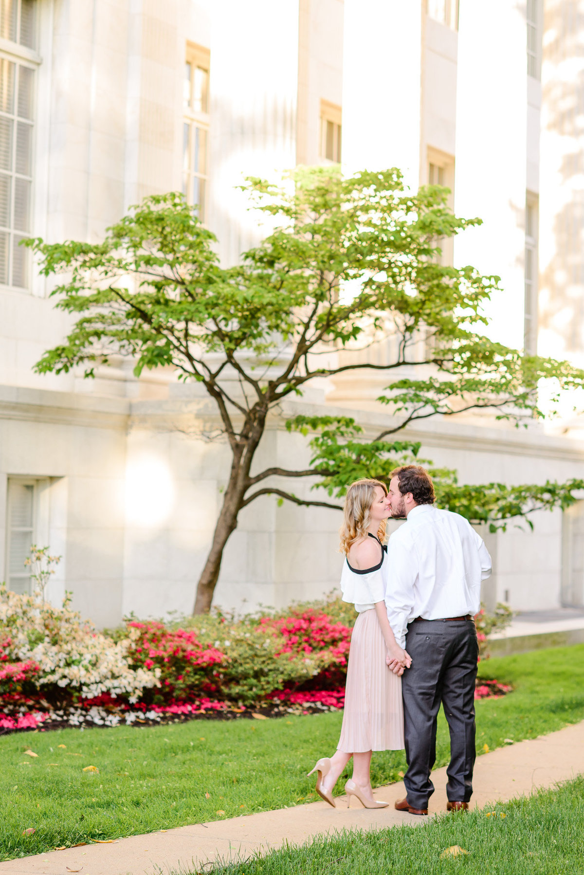DC Sunrise Engagement Session-DAR Constitution Hall (21)