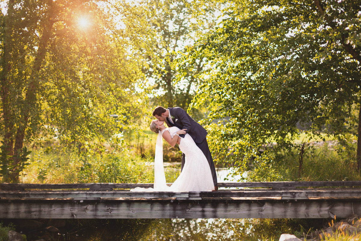 Somerby Golf & Country Club has the most beautiful bridge we can use as a wedding backdrop for photographers
