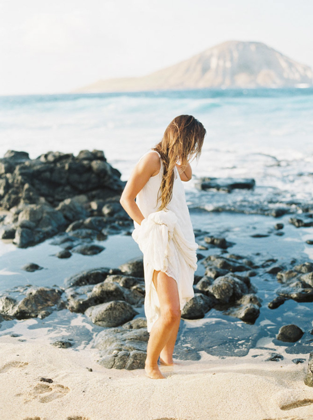 Hawaii Destination Wedding Photographer Sheri McMahon - Hawaii Beach Elopement-00032