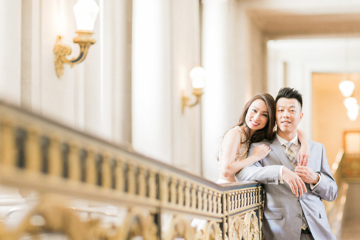 San Francisco Beaux Arts Engagement session