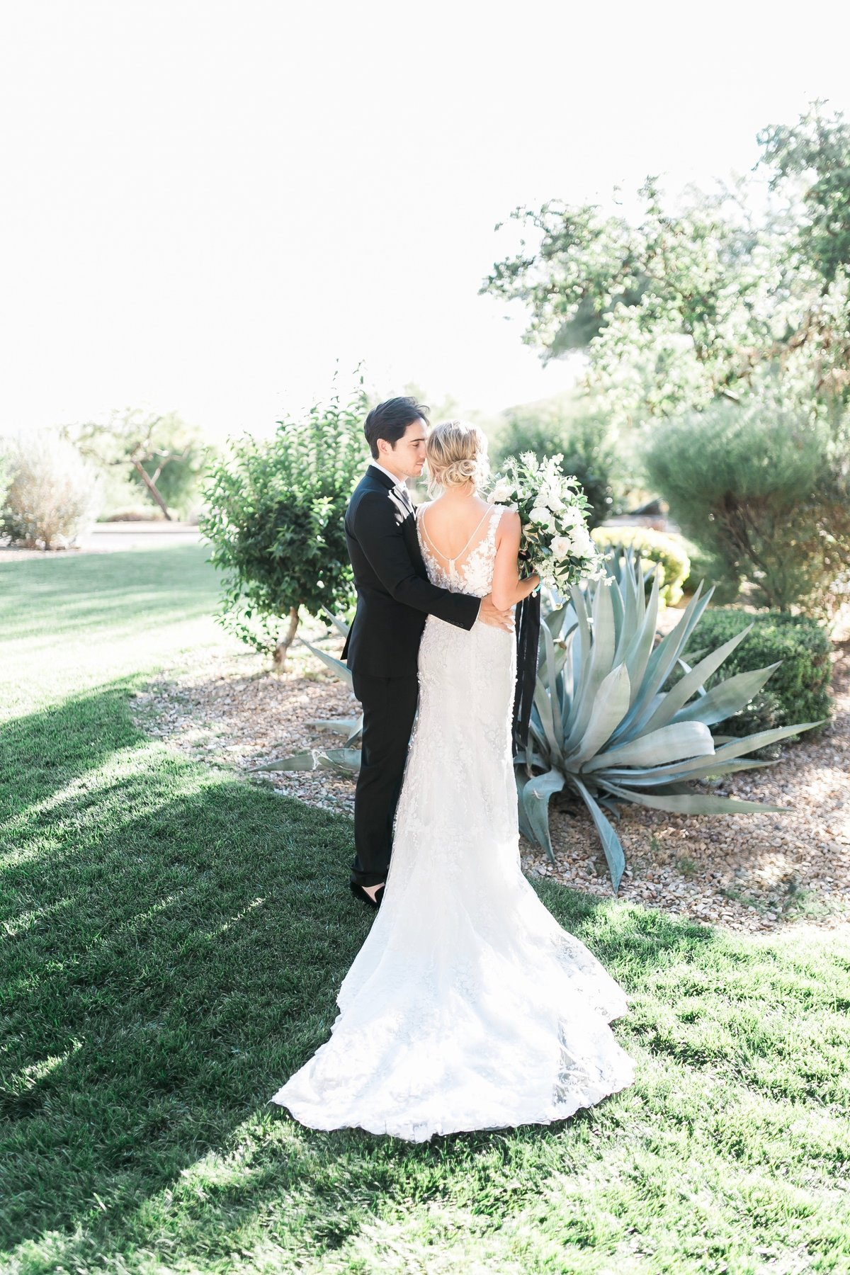 bride and groom at Red Rock Country Club Las Vegas