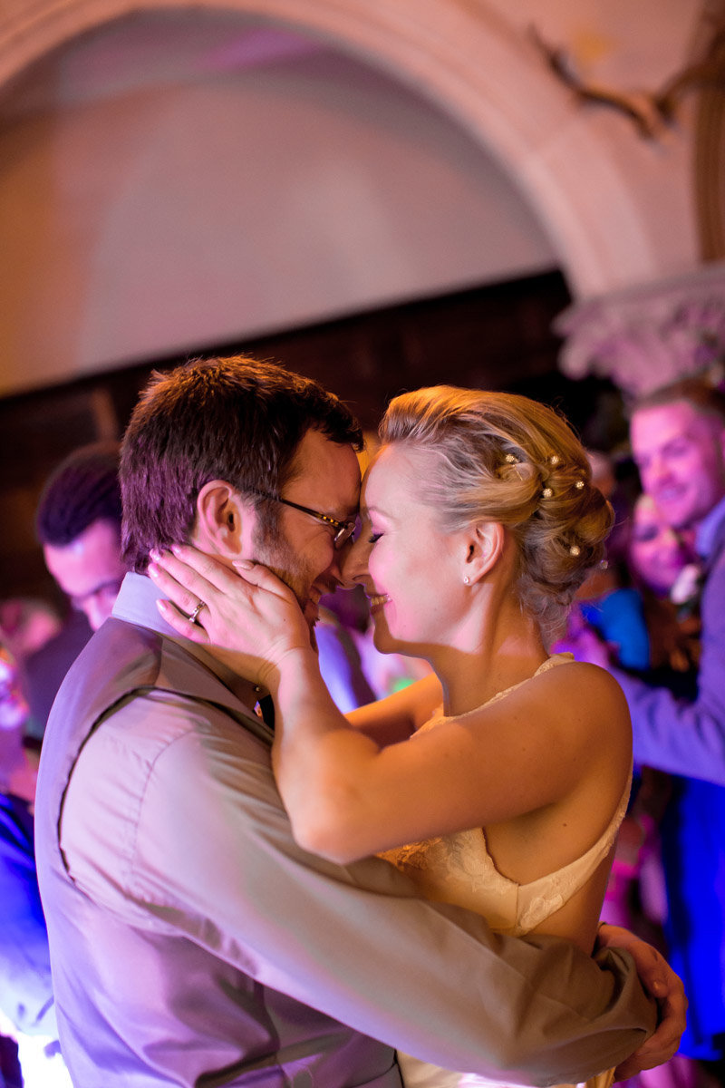 First Dance at Huntsham Court Wedding