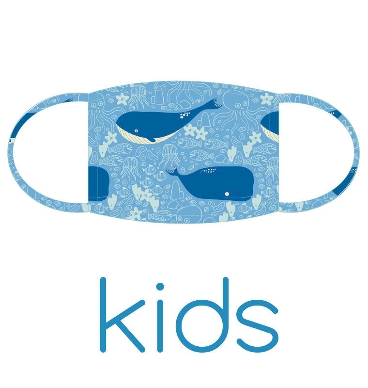singing whale_mask_kids