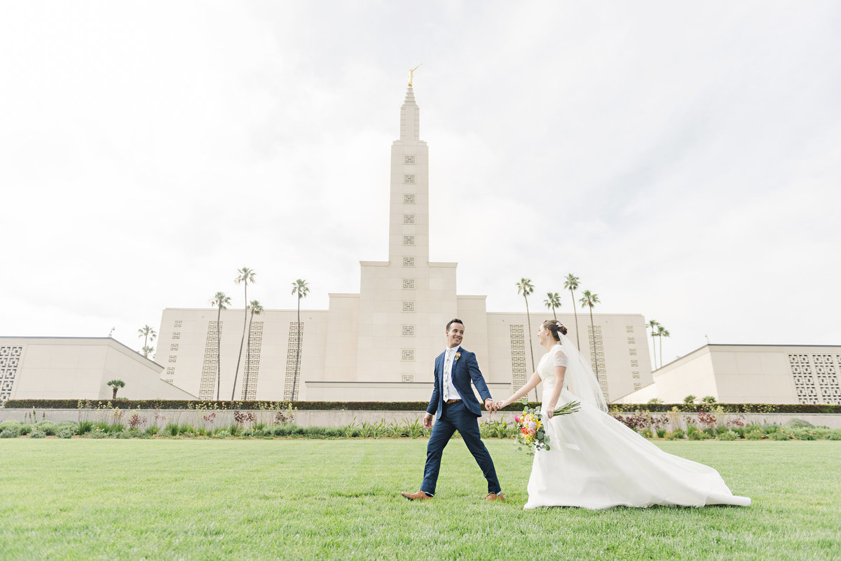 Los Angeles Temple Wedding