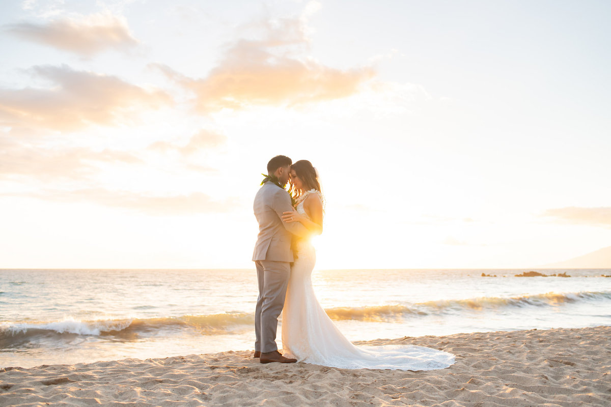 Maui wedding photography - sunset