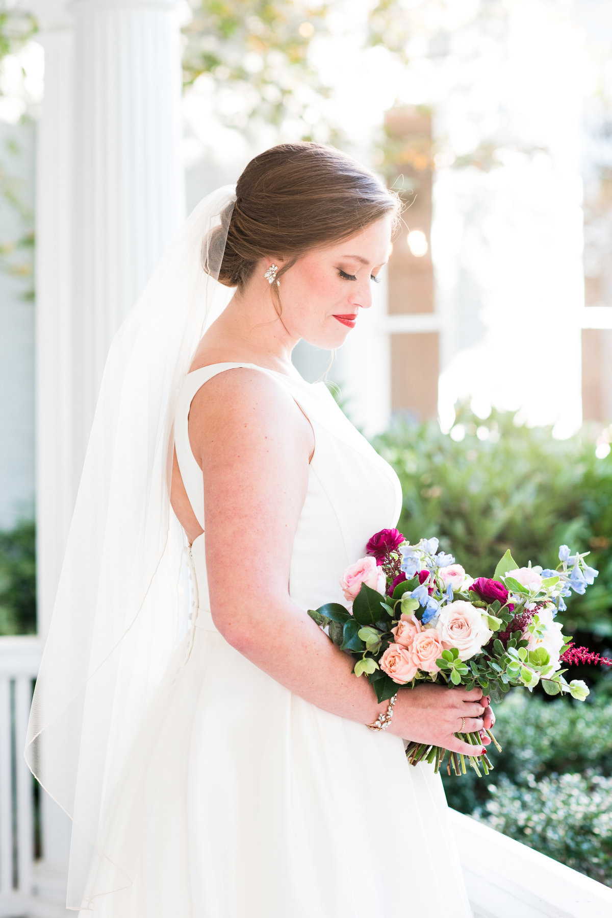 A McAlister Leftwich House Wedding, Michelle & Sara Photography, Greensboro NC4