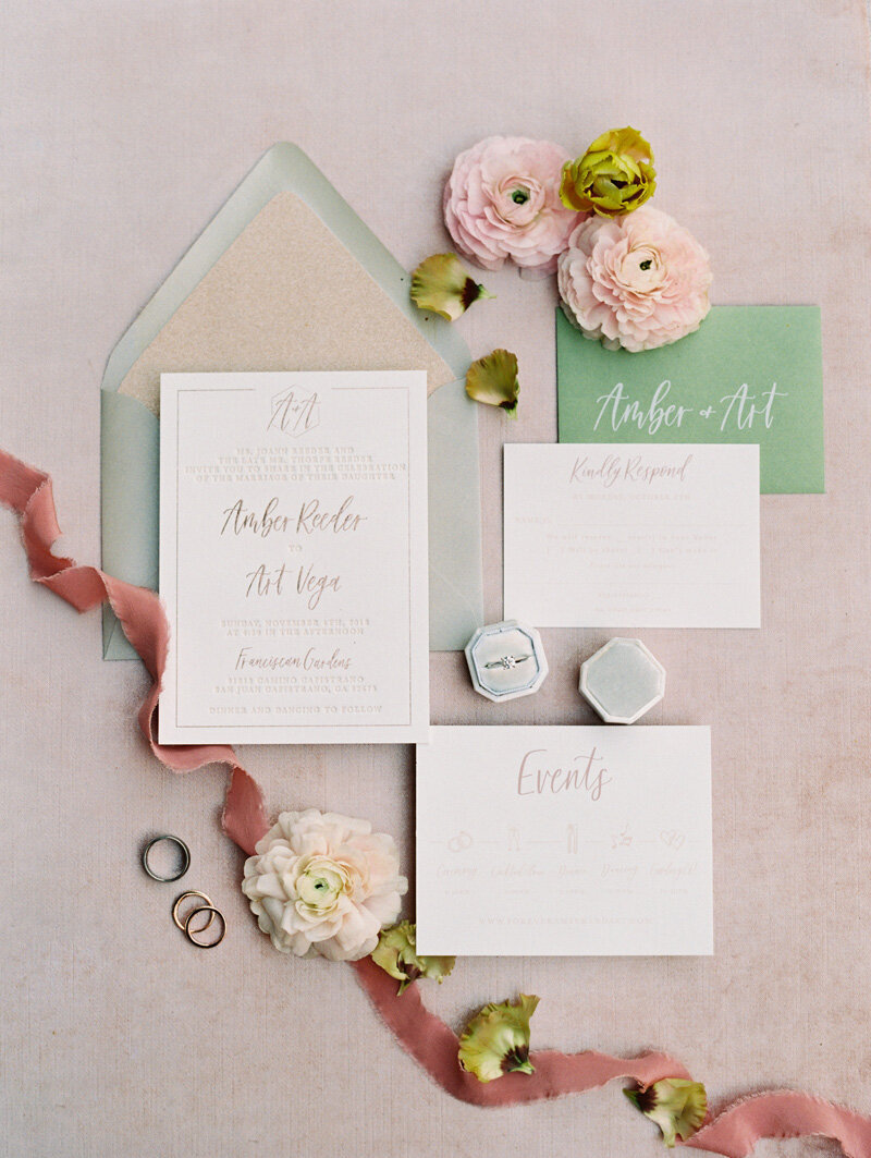 pirouettepaper.com | Wedding Stationery, Signage and Invitations | Pirouette Paper Company | Franciscan Gardens Wedding | Mallory Dawn Photography _ (17)