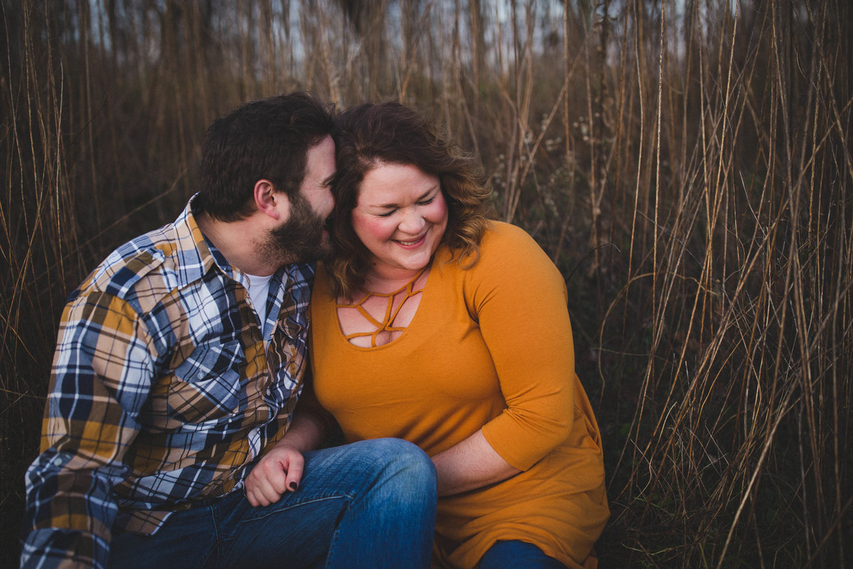 virginia-farm-engagement-couple-laughing