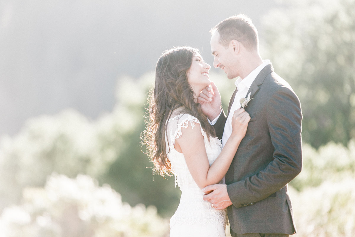 California Countryside Wedding Photo
