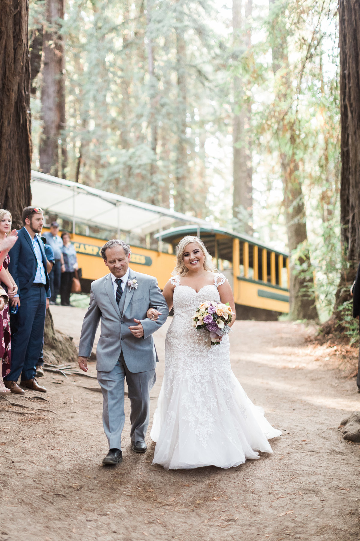 Roaring Camp Railroad Santa Cruz Wedding30
