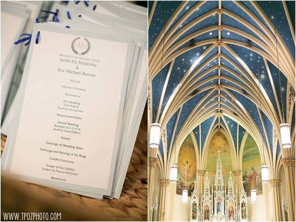 St Mary's Annapolis Wedding Ceremony