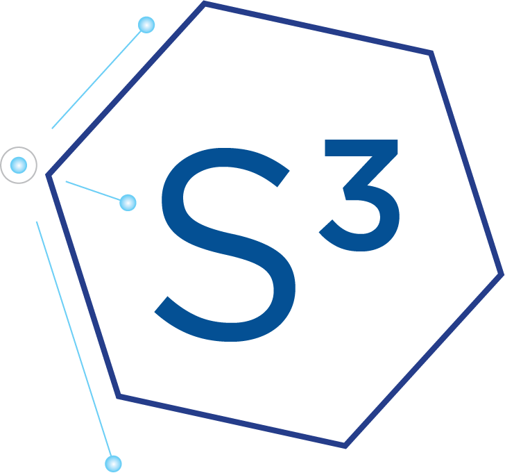 s3 simplified logo