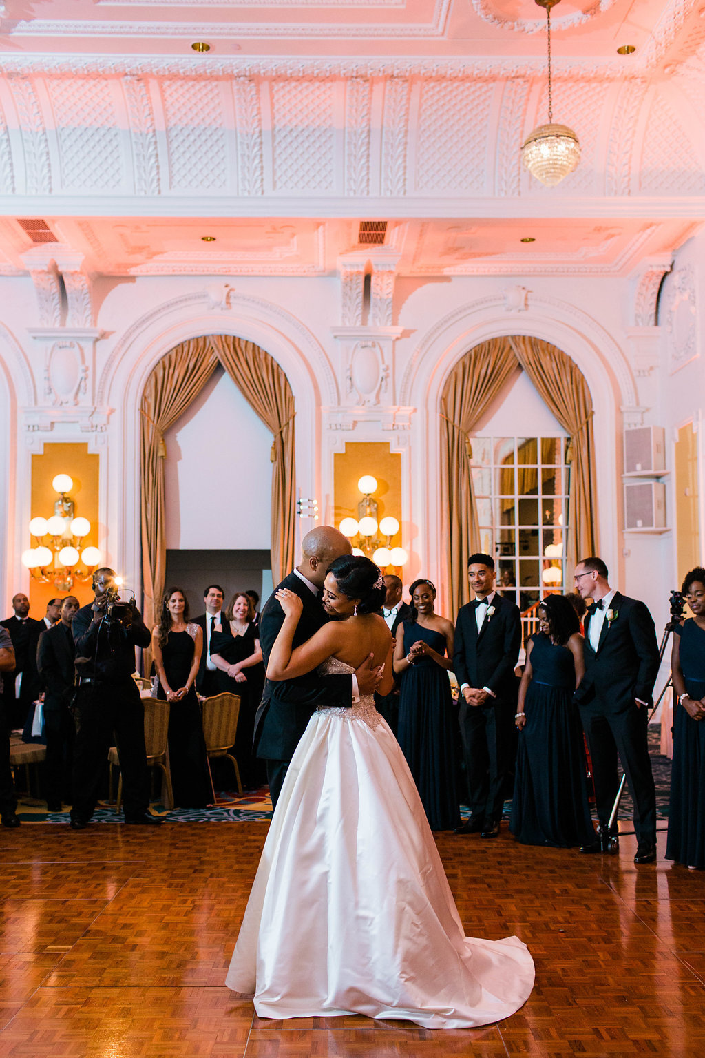 Ballroom wedding photographer