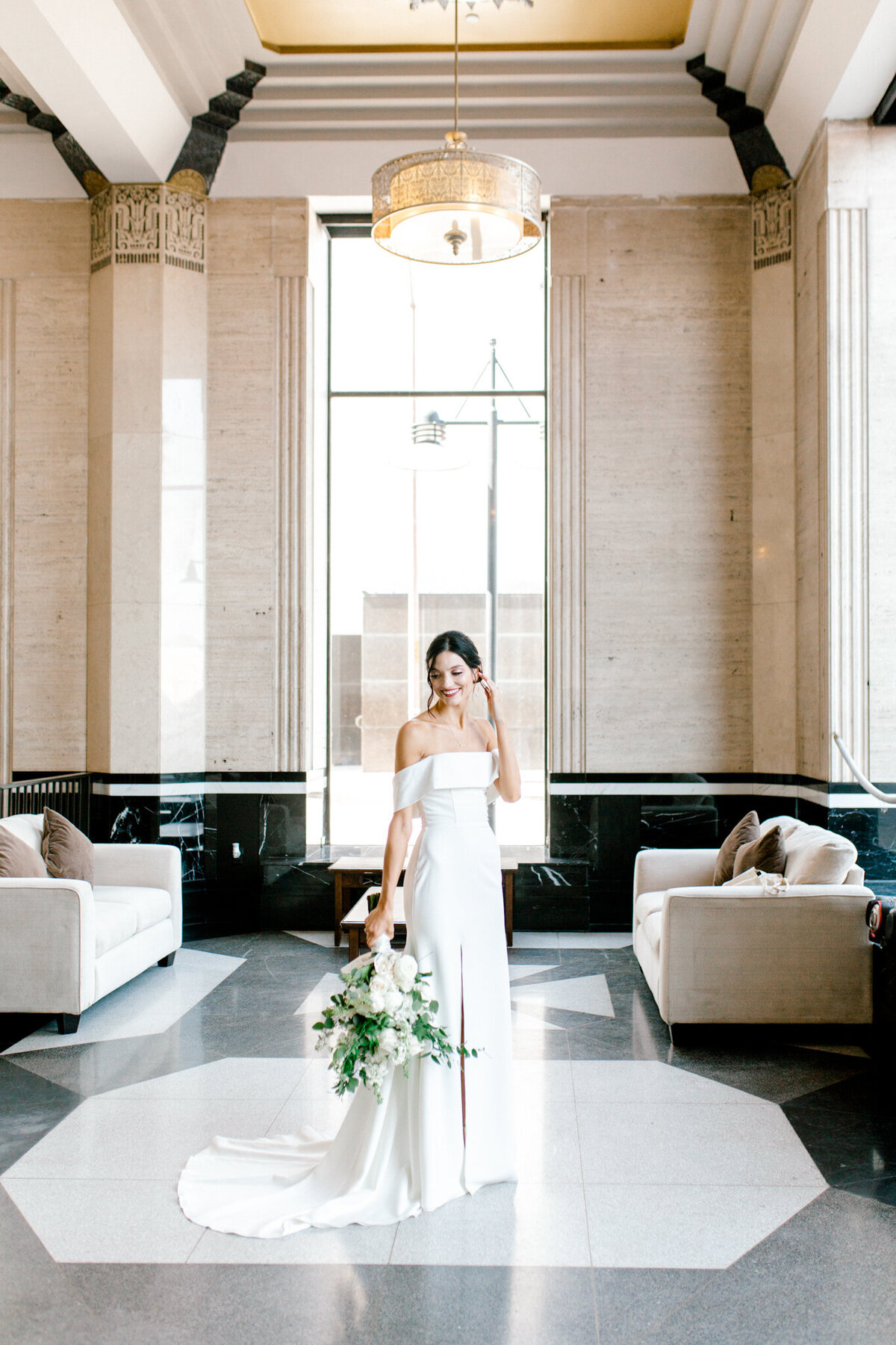 Hope & Zack's Wedding at the Carlisle Room | Dallas Wedding Photographer | Sami Kathryn Photography-37