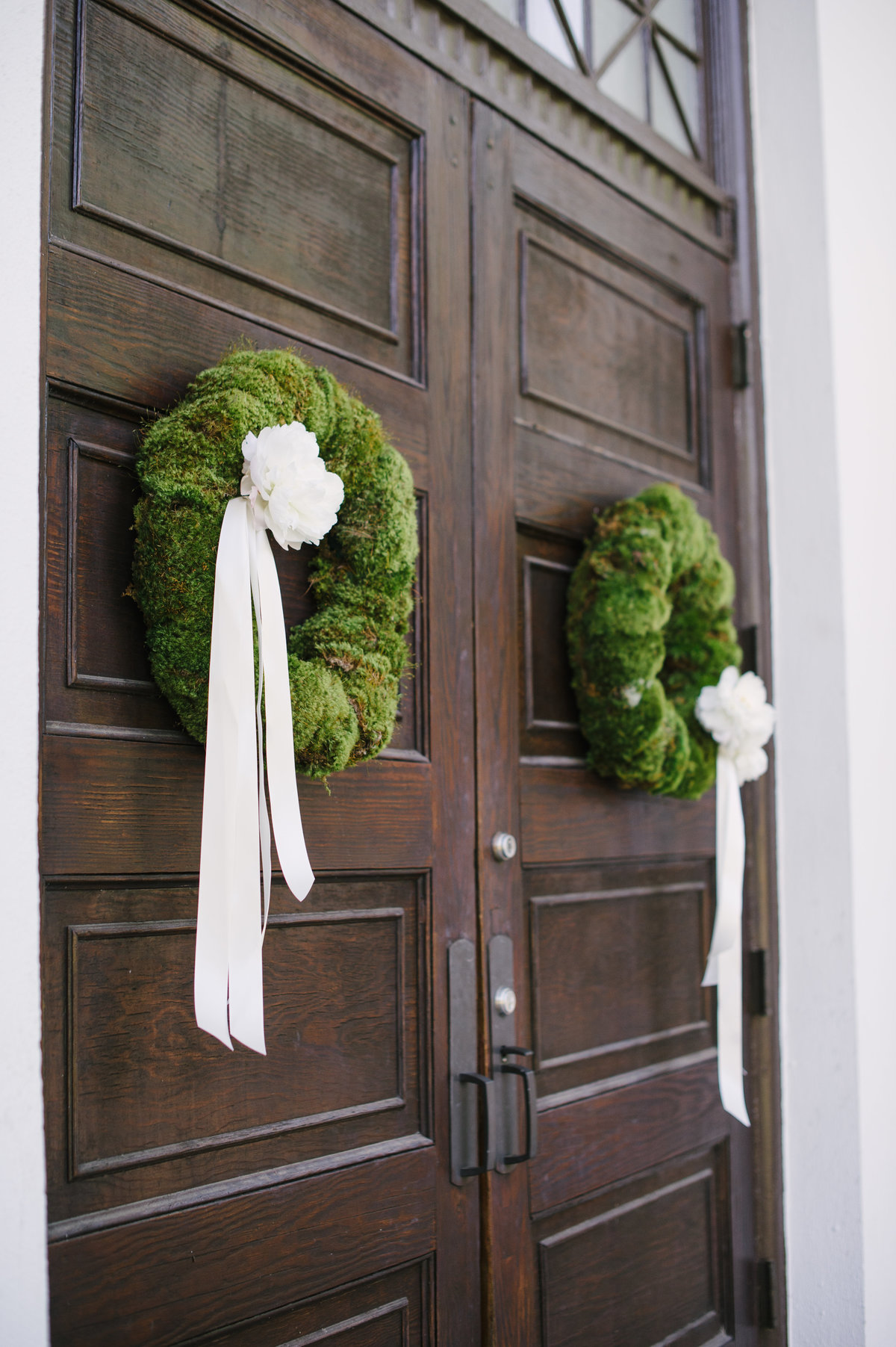 Wreaths on Doors at UGA Chapel