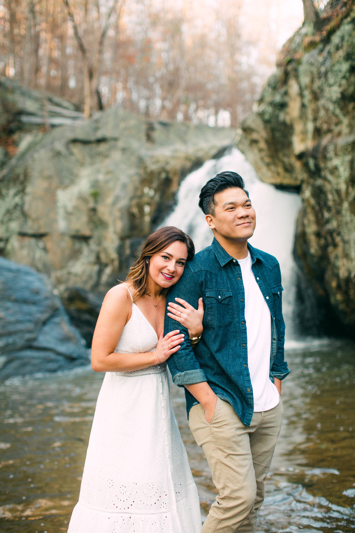 couple session at kilgore falls
