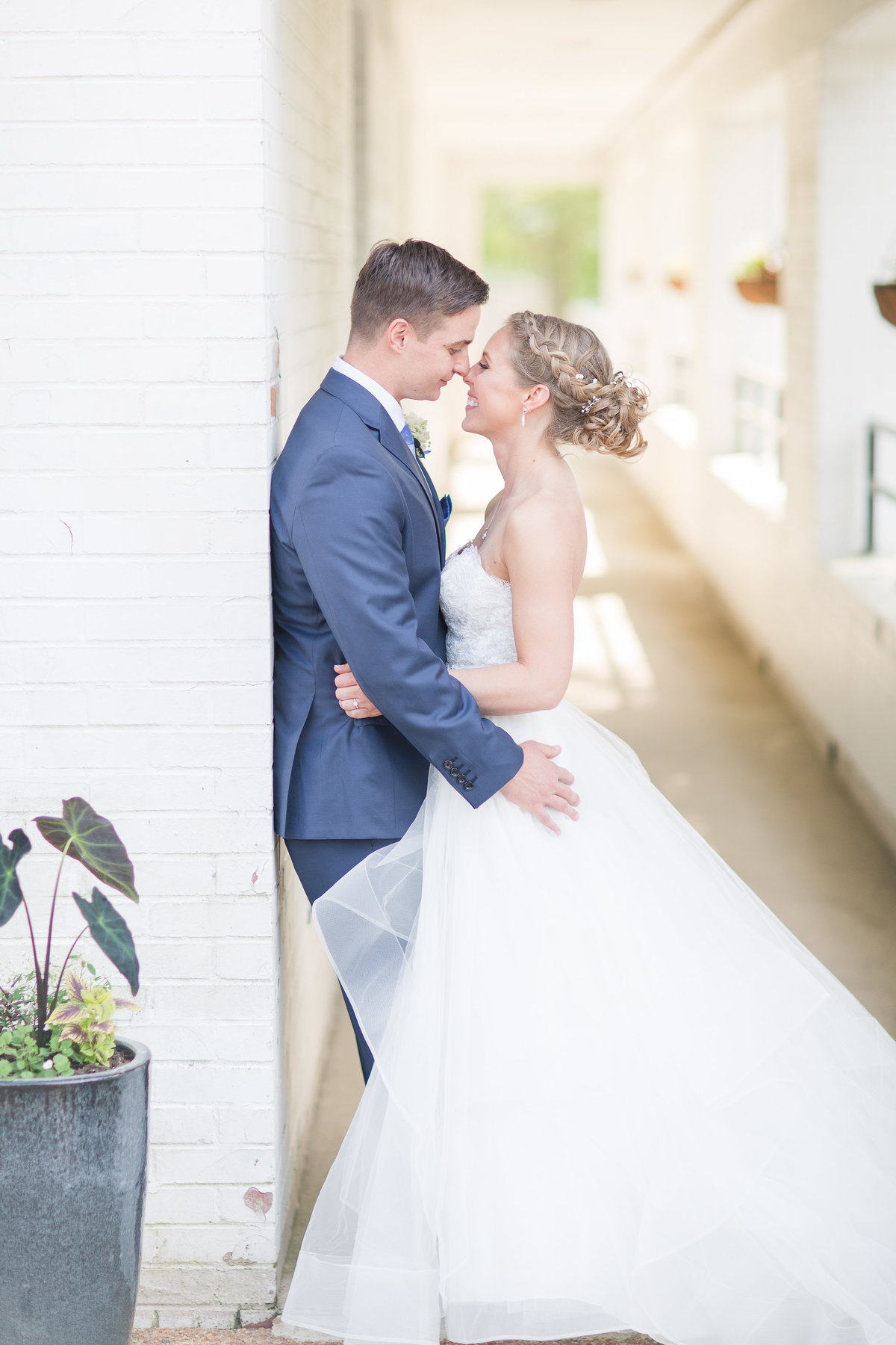 Spring wedding in Newport News, Virginia