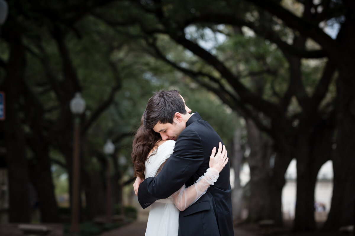downtown austin wedding photos
