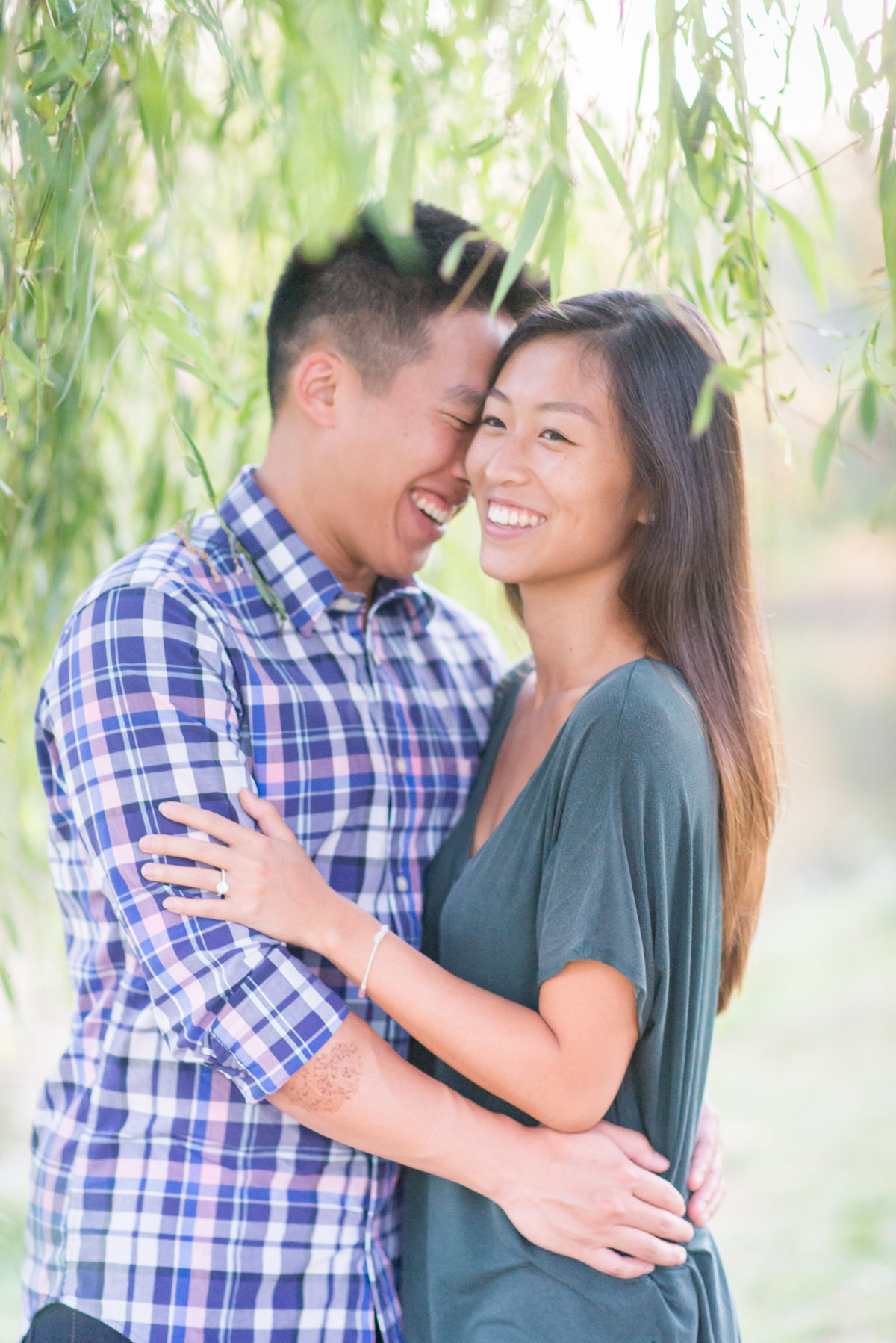 Baker Park Frederick MD Engagement Shoot Wedding Photographer-