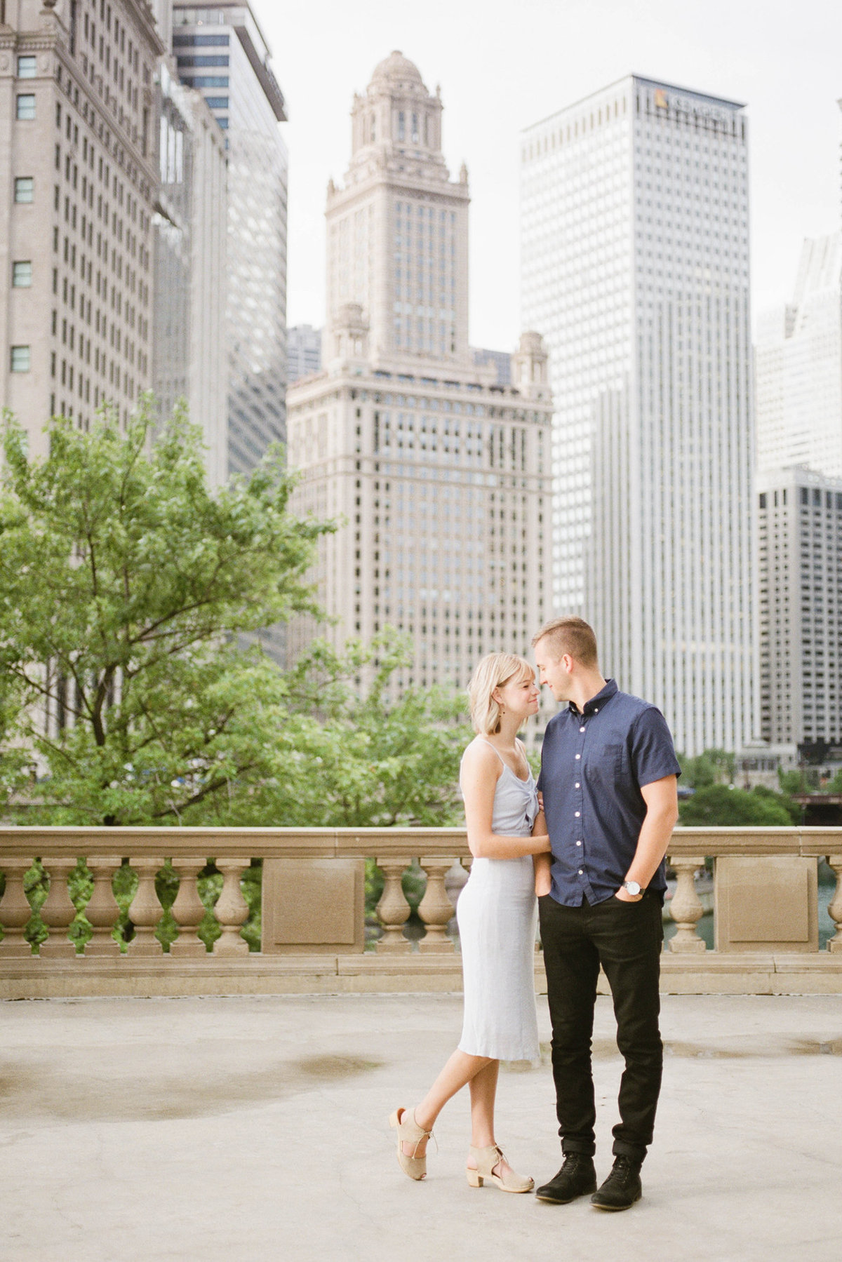 Chicago Wedding Photographer - Fine Art Film Photographer - Sarah Sunstrom - Sam + Morgan - Engagement Session - 14