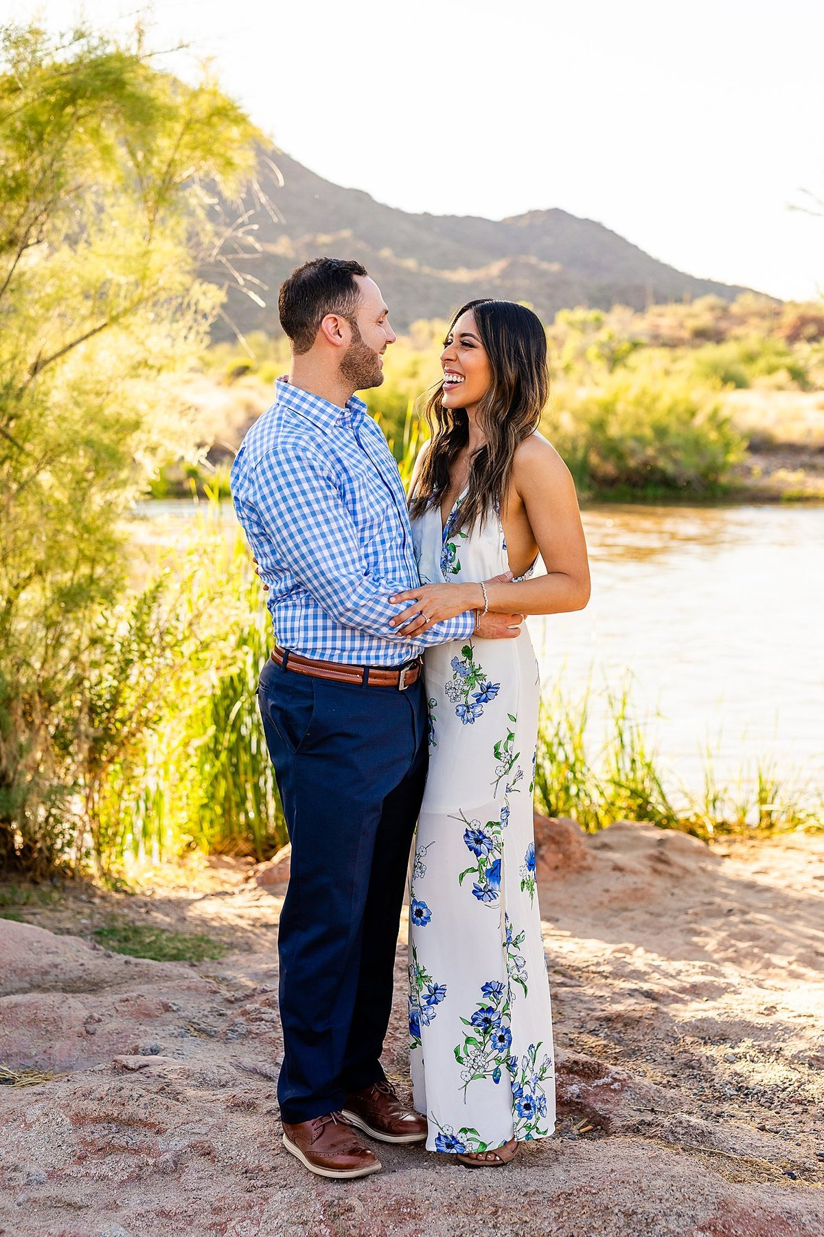Celina + Colton - Engagement - Salt River Engagement Session-14_Lunabear Studios Portfolio