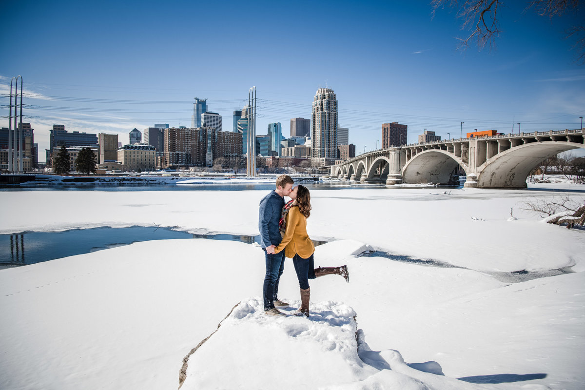 Theresa & Zak - Minnesota Engagement Photography - Saint Anthony Main - RKH Images  (95 of 144)
