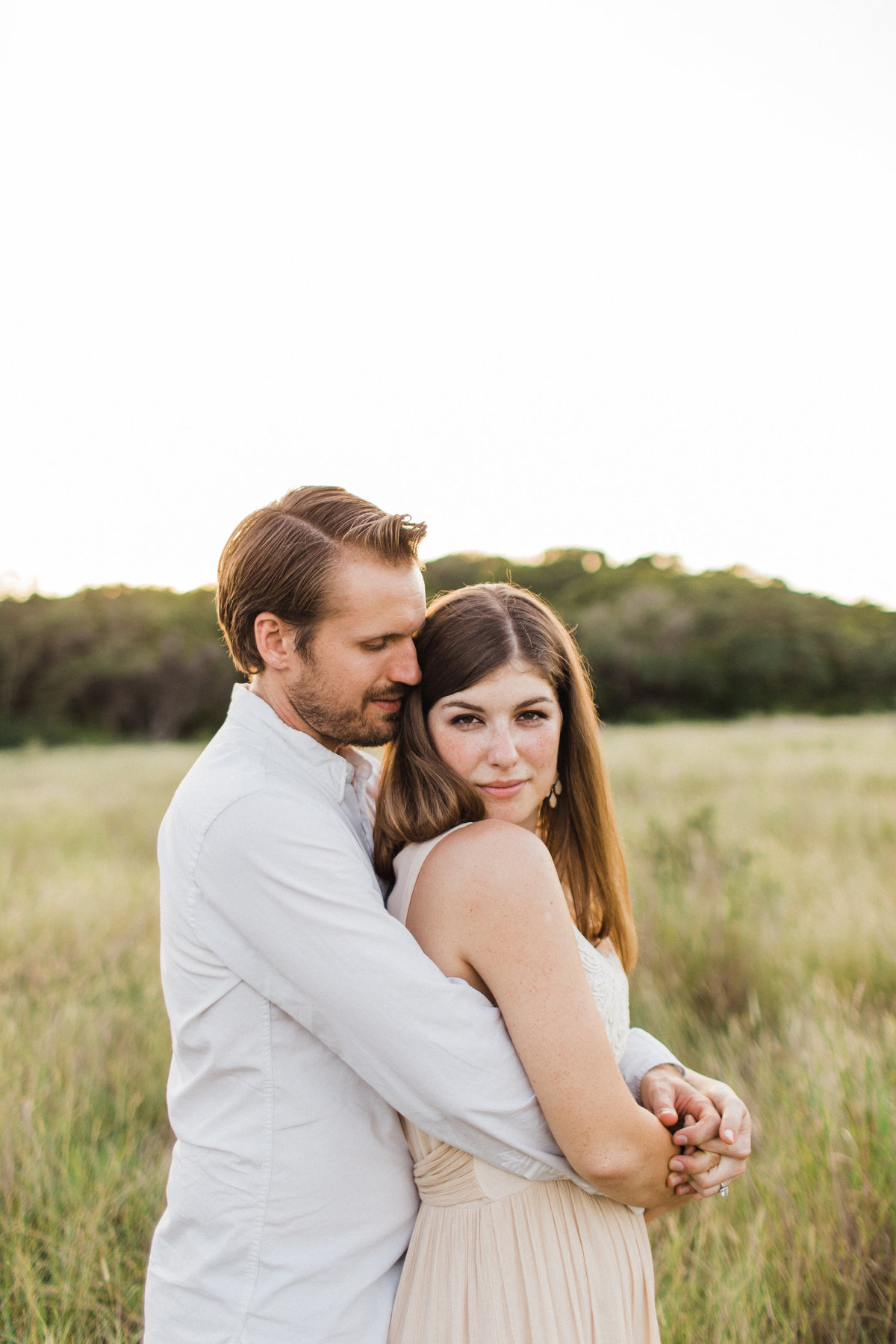 Fine Art Engagement session in Hill Country