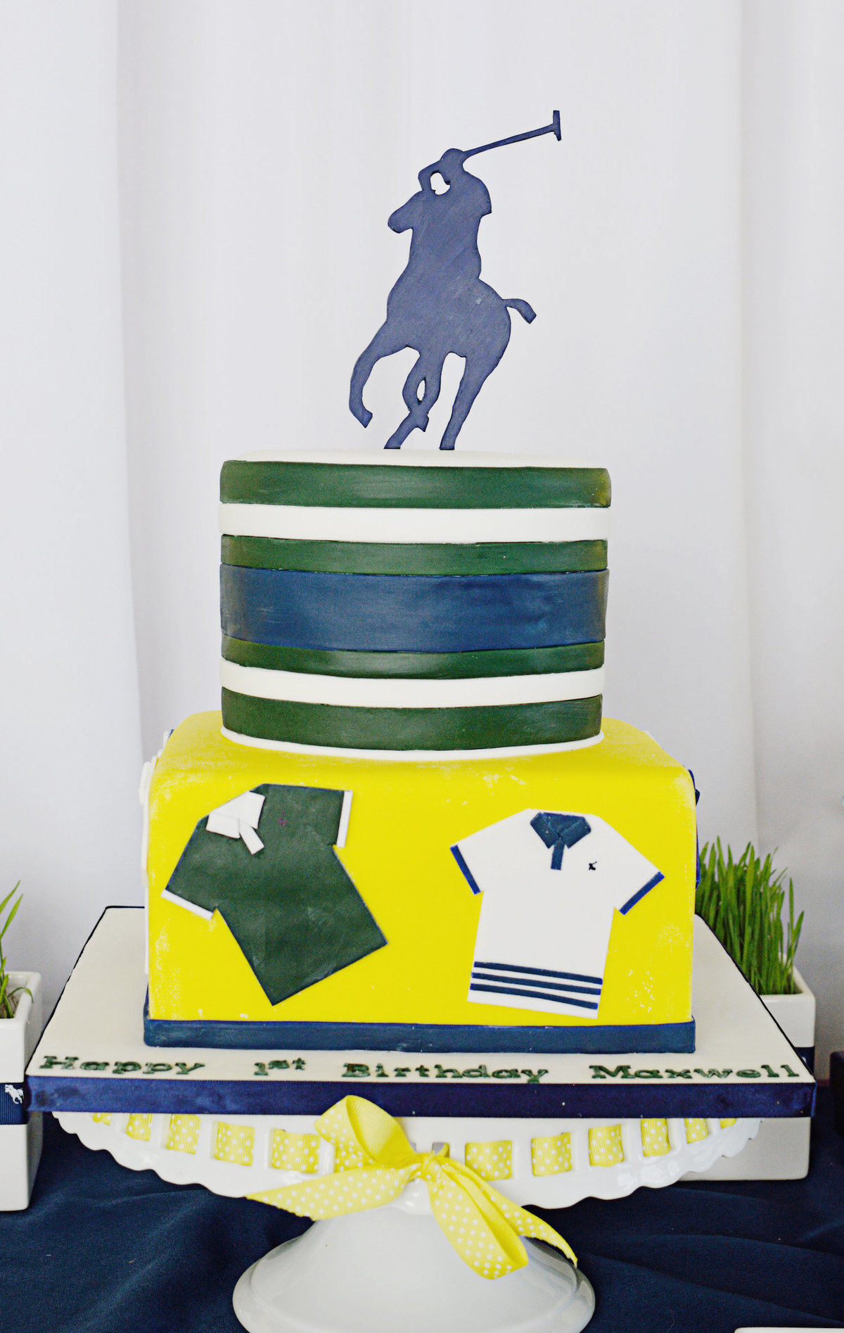 Sparkling Events Designs - Polo Party Cake